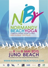 Normandy Beach Poster